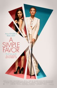 A Simple Favor One Sheet
