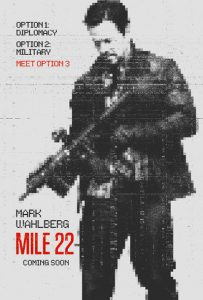 Mile 22 One Sheet
