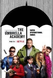The Umbrella Academy One Sheet